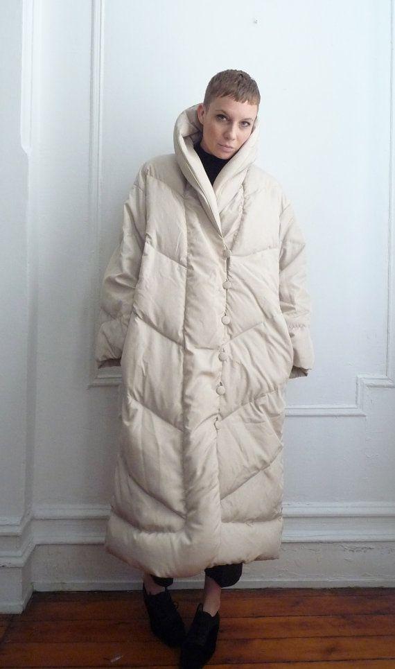 Bill Blass Puffer Coat / Duvet Coat / Down Coat by TripleGemini