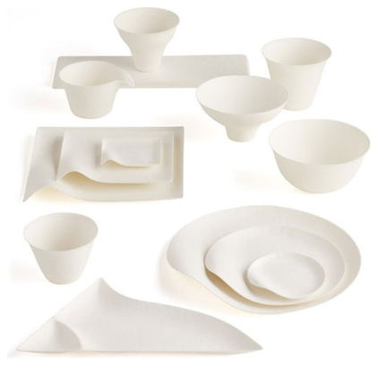Wasara Biodegradable Tableware made from fully compostable materials.