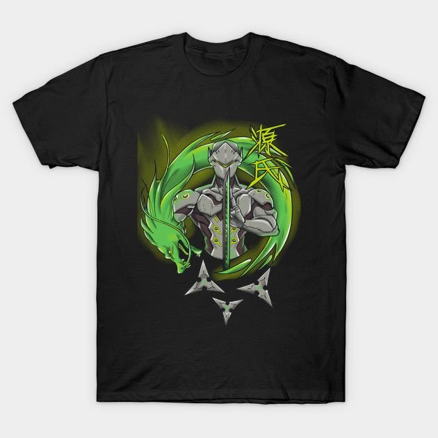 Do you play overwatch and Genji is your favourite character? This tshirt is for you and is on sale, only for 14$ for 3 days #tshirt #game #games #videogames #genji #overwatch #playstation #pc #xbox #nerd #ninja #gragon #green #magliette #giochi #videogiochi