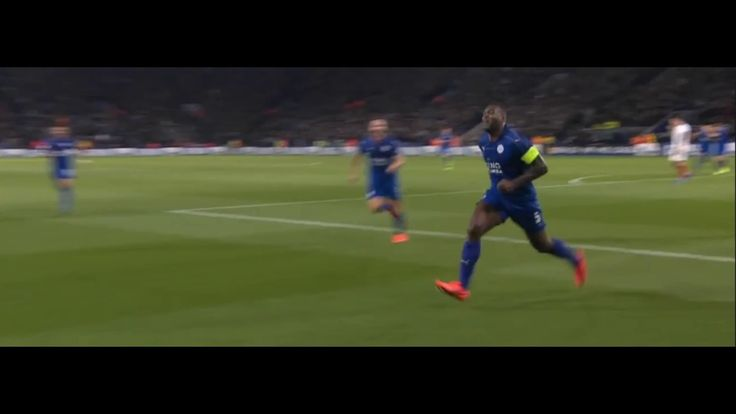 Wes Morgan Goal - Leicester City vs Sevilla 1-0 (UCL) 14/03/2017 HD