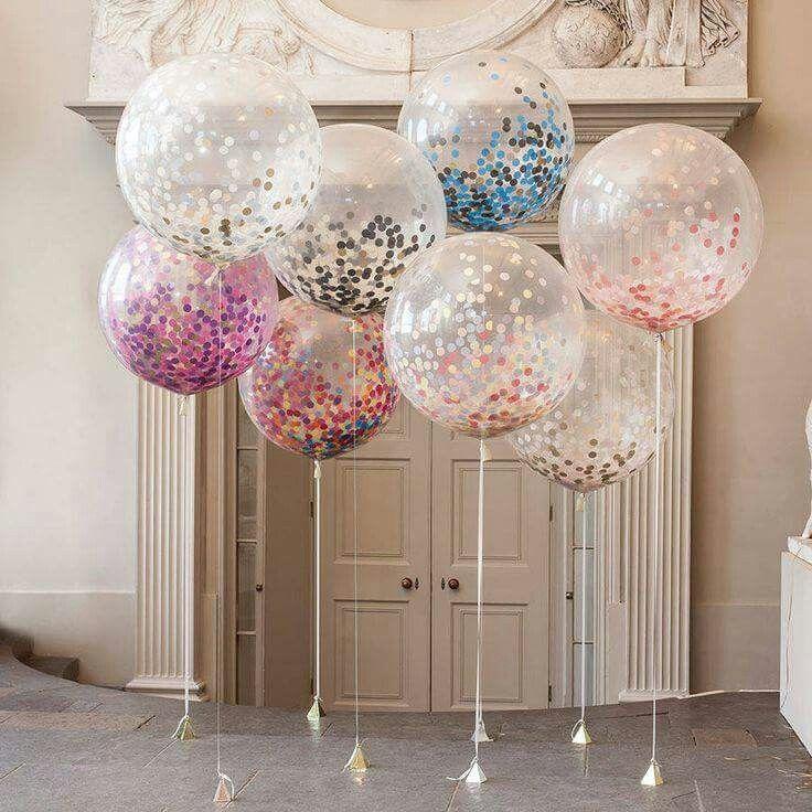 Glitter balloon More