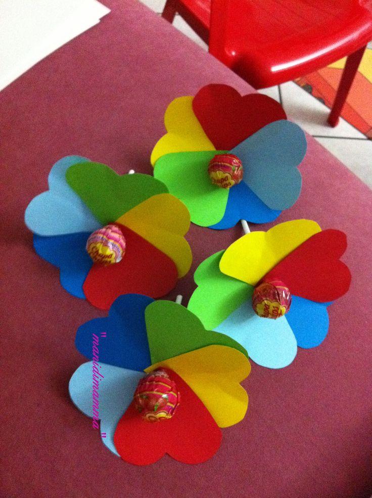 chupa chupa fiori di carnevale
