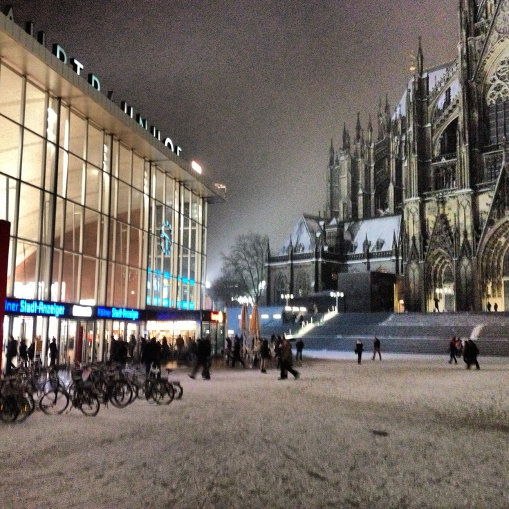 Winter in Cologne