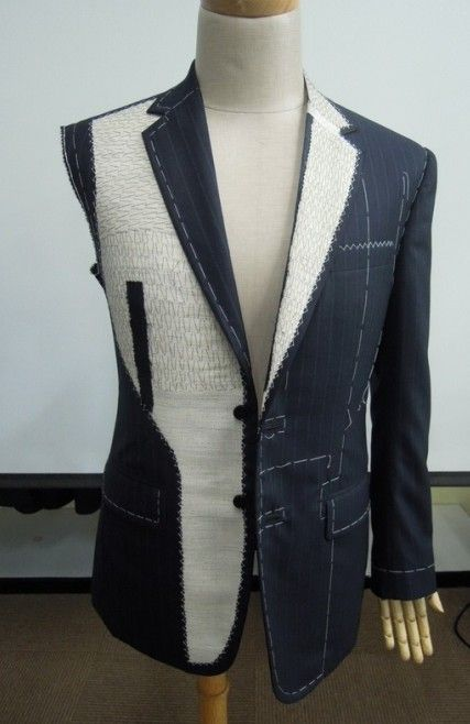 suit jacket interfacing