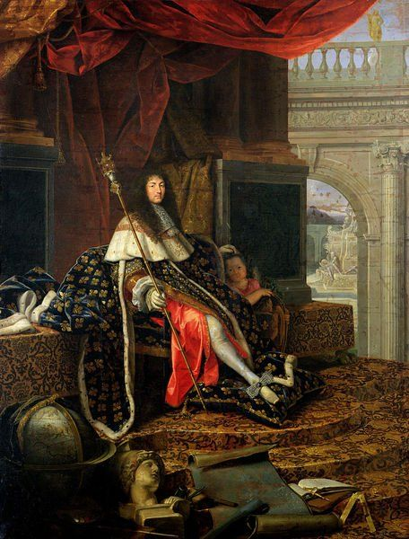 MY  DIVINE   KING  SUN  --  ´´LOUIS  XIV.´´