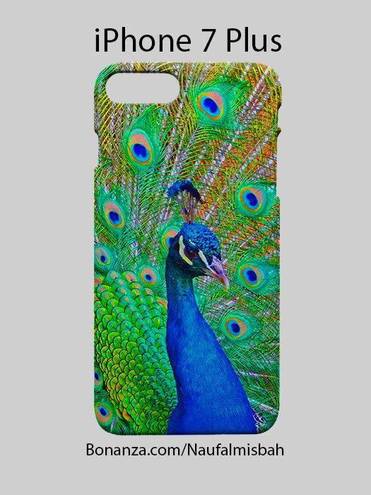 Peacock iPhone 7 PLUS Case Cover Wrap Around
