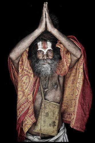 Naga Baba - Delhi, India