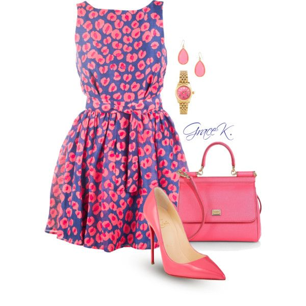 """""""Pink Candy"""" by gracekathryn on Polyvore"""
