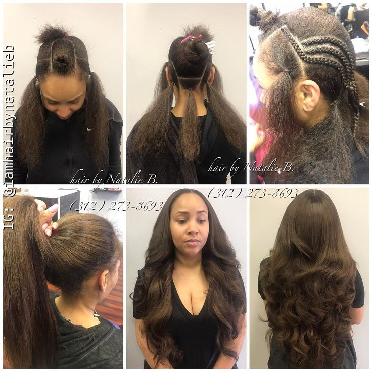Natural-Looking, Versatile Sew-In Hair Weave...using @iloveindique hair extensions. Call or text Natalie B. at (312) 273-8693 to schedule your appointment!