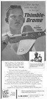 Cox Thimble-Drome Models 1959 Ad Picture
