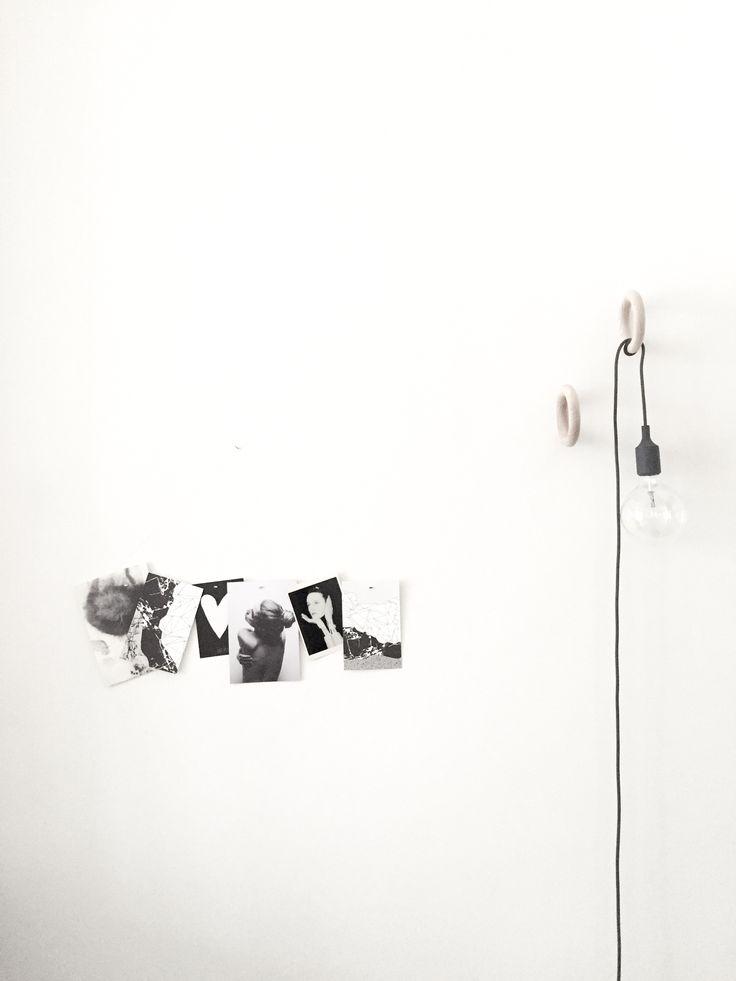 Living Room Detail - Photo Bar Yield Design - Lamp Muuto - Gym Hooks Hay