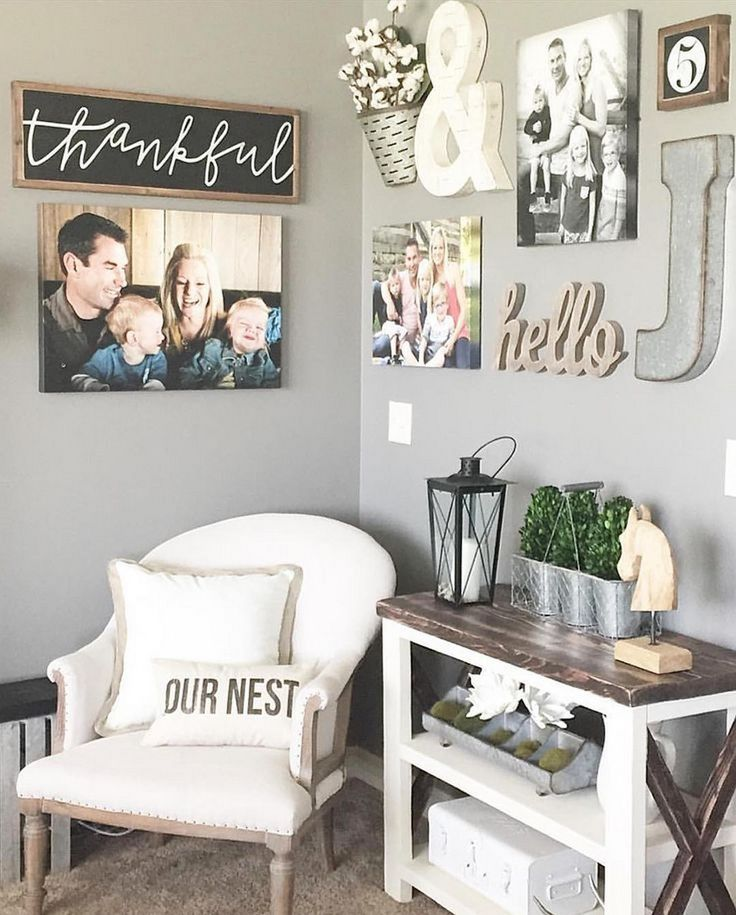 Best 25+ Portrait wall ideas on Pinterest Canvas collage, Thanks - living room wall decor