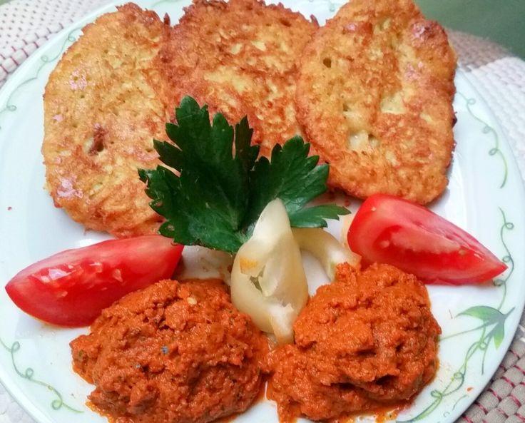 Viki Egyszerű Konyhája: Cukkini sült paprika krémmel (paleó)