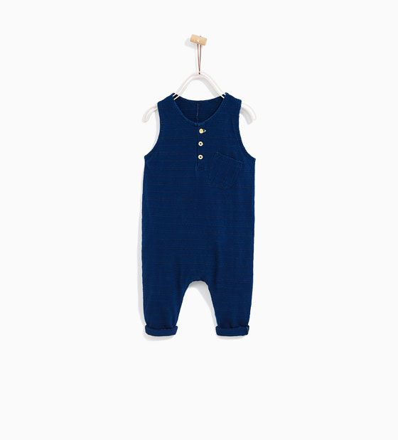 Image 1 of DUNGAREES WITH POCKET from Zara