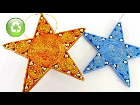 Paper Stars.  In Spanish but very clear how to do it for those who don't speak Spanish. Looks easy and so may possiblities. Cómo hacer estrellas de papel - Gustamontón