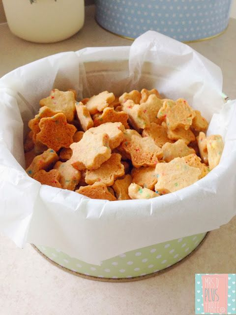 Tiny Star biscuits for kids (just like tiny teddies but homemade)