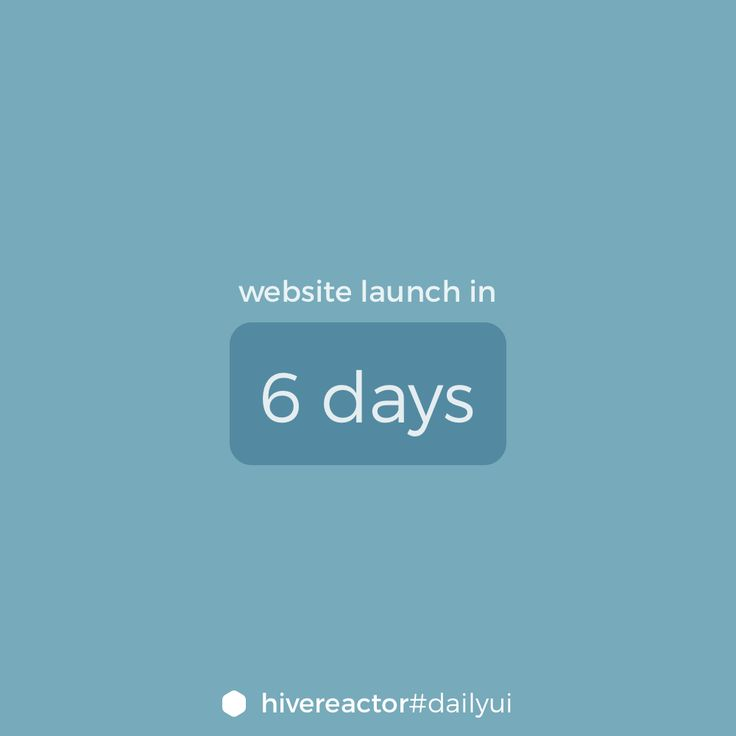#DailyUI #014. A simple countdown. #design #ui #ux