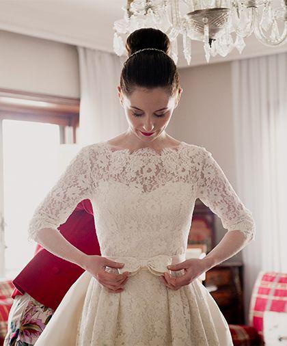 vintage wedding dress ♥