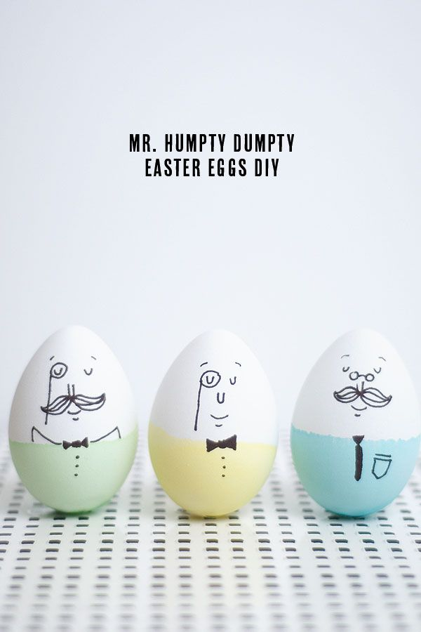 Mr. Humpty Dumpty : Easy Easter Eggs