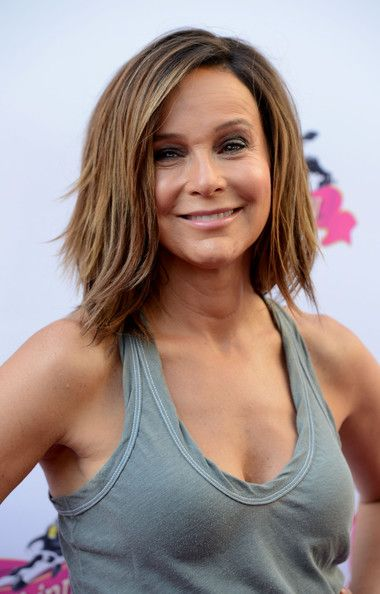 Jennifer Grey's Layered Cut - Medium-Length Hairstyles for Women Over 50 - Photos