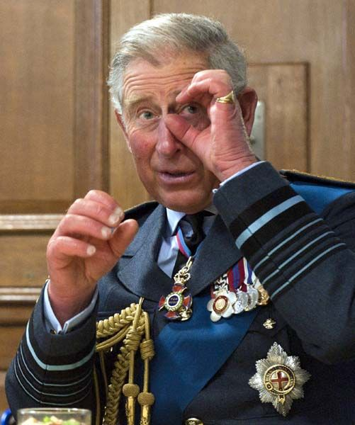 Breaking news..........Prince Charles admits he talks to his plants on this day 21st September,.1985.