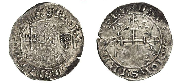 NumisBids: Numismatica Varesi s.a.s. Auction 67, Lot 491 : RODI JUAN FERNANDEZ DE HEREDIA (1376-1396) Gigliato. D/ Il Gran...