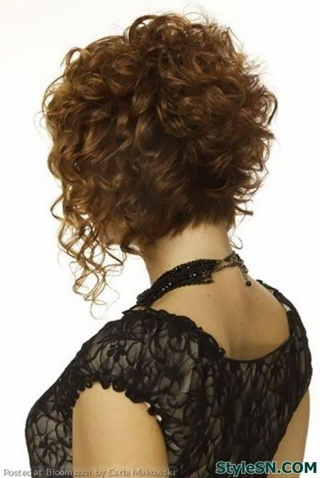 short curly hairstyles 2014 - Google Search LIKE THIS BUT WOULDNT BE ABLE TO PUT IT IN A BOBBLE FOR THE GYM