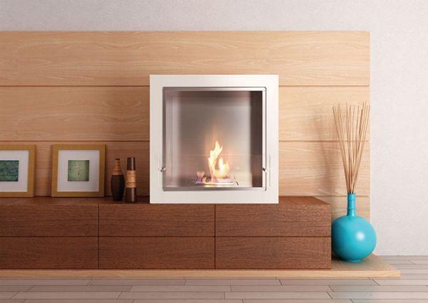 Cube Jr. Fireplace