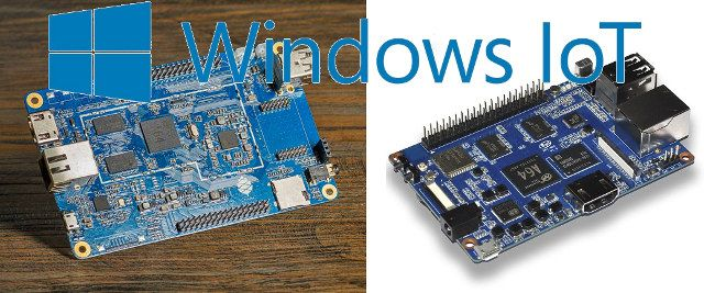 Allwinner A64 based Pine A64 and Banana Pi M64 Boards Can Now Run Windows 10 IoT Core