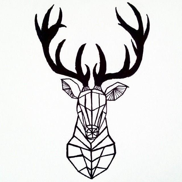 Tattoo Templates 60 Free Animal Animal Templates Tattoo Vorlagen 60 Koste Animal Free K In 2020 Geometric Deer Geometric Animal Tattoo Geometric Animals