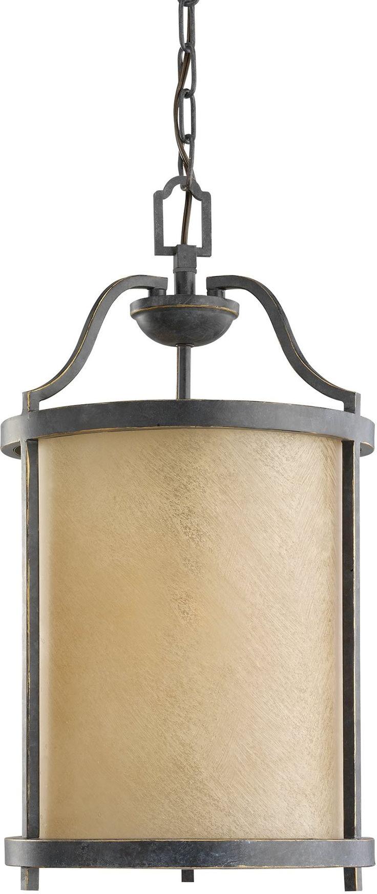 0-023240>Roslyn 1-Light Energy Star Hall Foyer Pendant Flemish Bronze