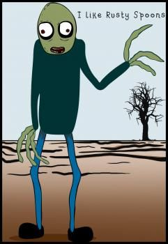 Salad Fingers... hahah who remembers this?