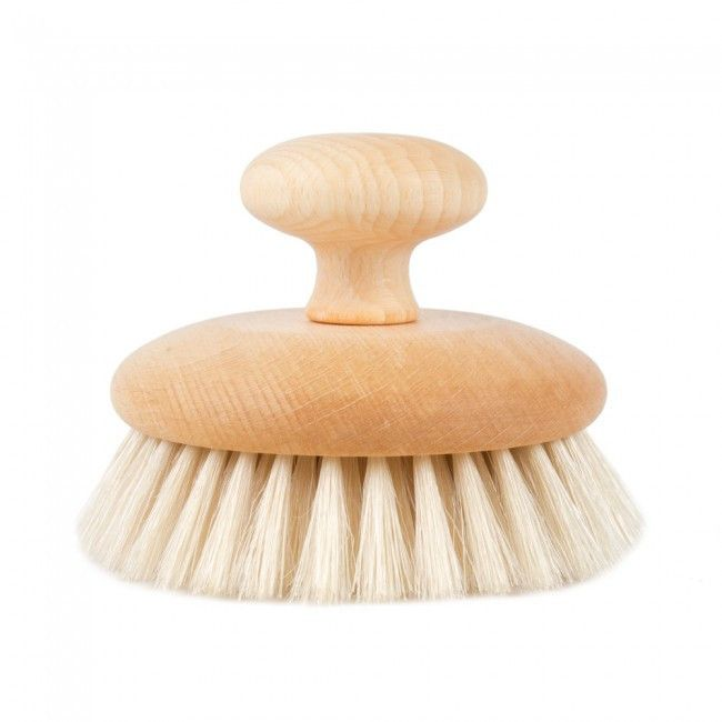 Beechwood Round Massage Brush