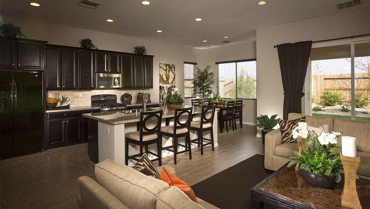 Model Home Interiors New Homes In Palomino Bakersfield California D R