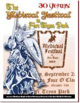 WHIDC Medieval Festival Program (Fort Tryon Park, annually in September)