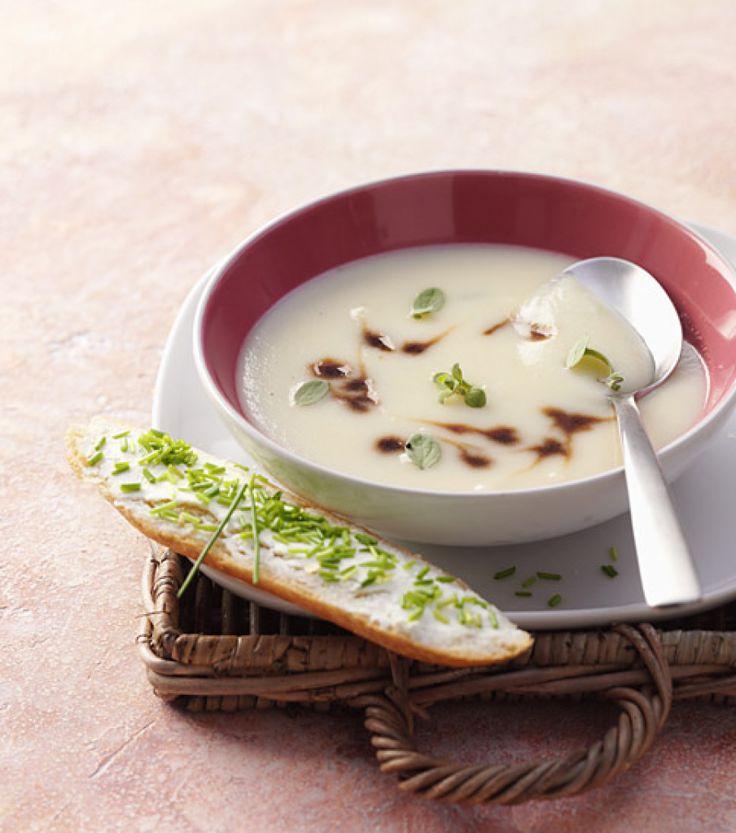 Kartoffel-Knoblauch-Suppe