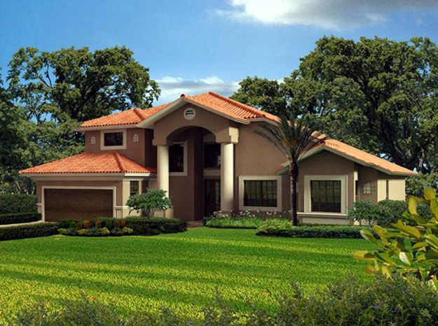 1000 images about spanish mediterranean home plans on for Two story mediterranean house plans