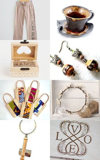 Etsy Gift Guide by Ms. Mint on Etsy--Pinned with TreasuryPin.com