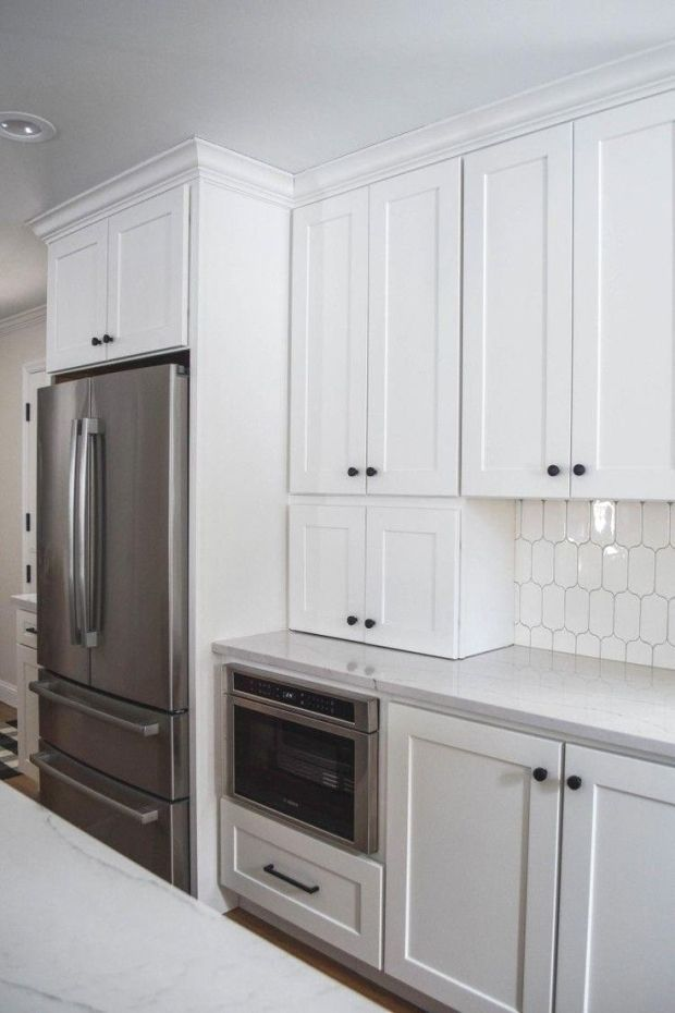 Appliance Garage In Kitchen Hides Appliances Like Toasters And
