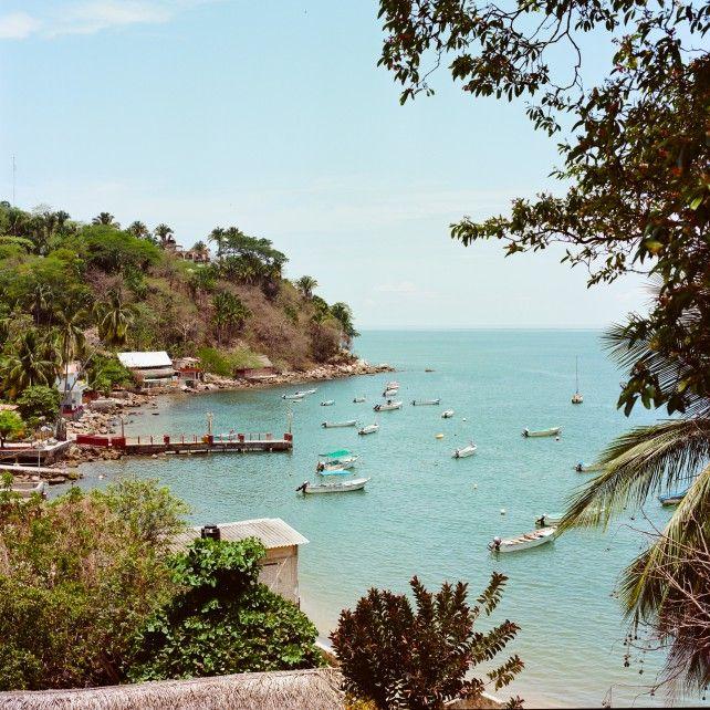 quiet beach town in Mexico: Yelapa