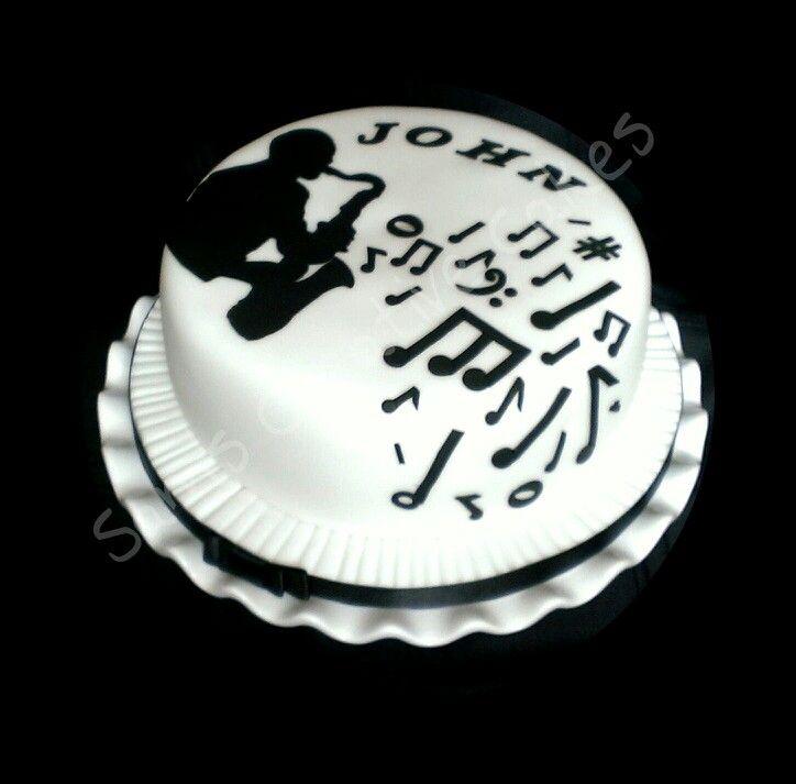 Jazz Birthday Cake