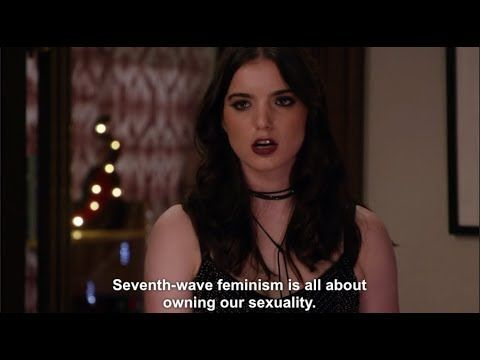 Liberal feminism gets roasted on Kimmy Schmidt - YouTube