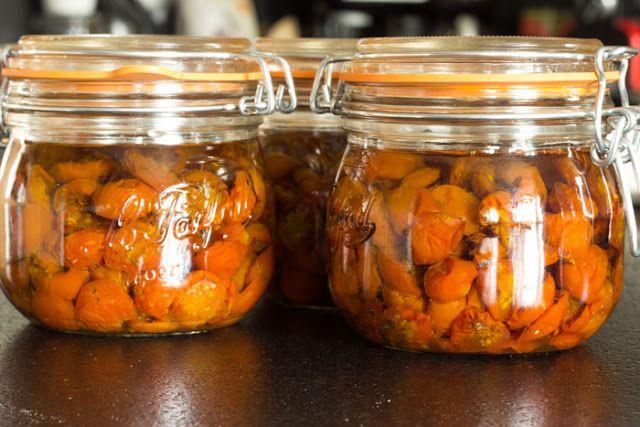 Le Domaine du Martinaa: Stérilisation de Tomates séchées du Martinaa
