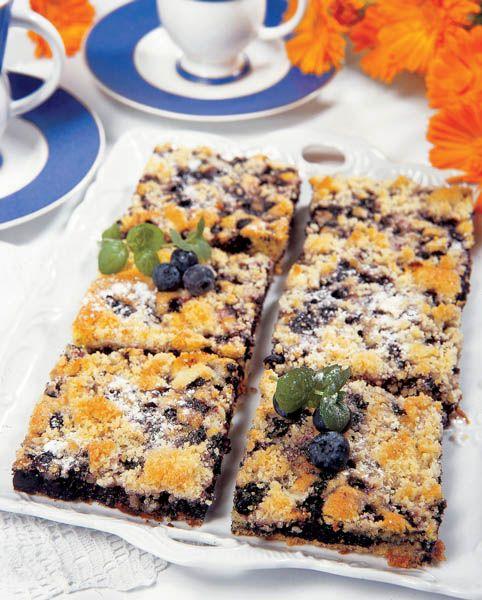 Prăjitură cu gem de fructe de pădure | Retete culinare - Romanesti si din Bucataria internationala