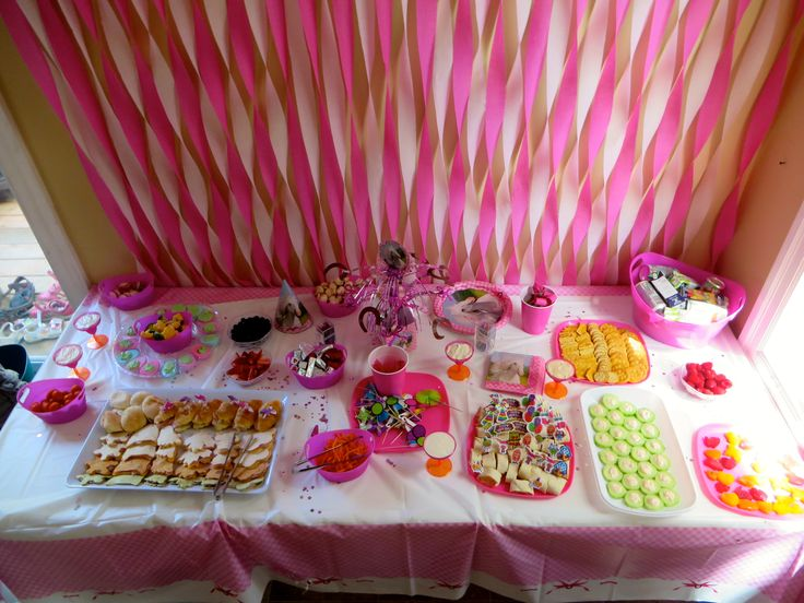 Buffet Style Kids Party