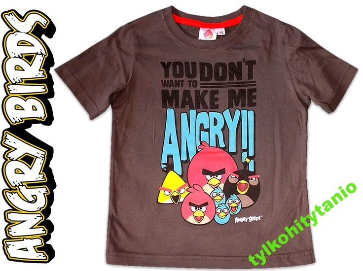 Angry Birds 10 lat hm NOWY t-shirt 140 cm