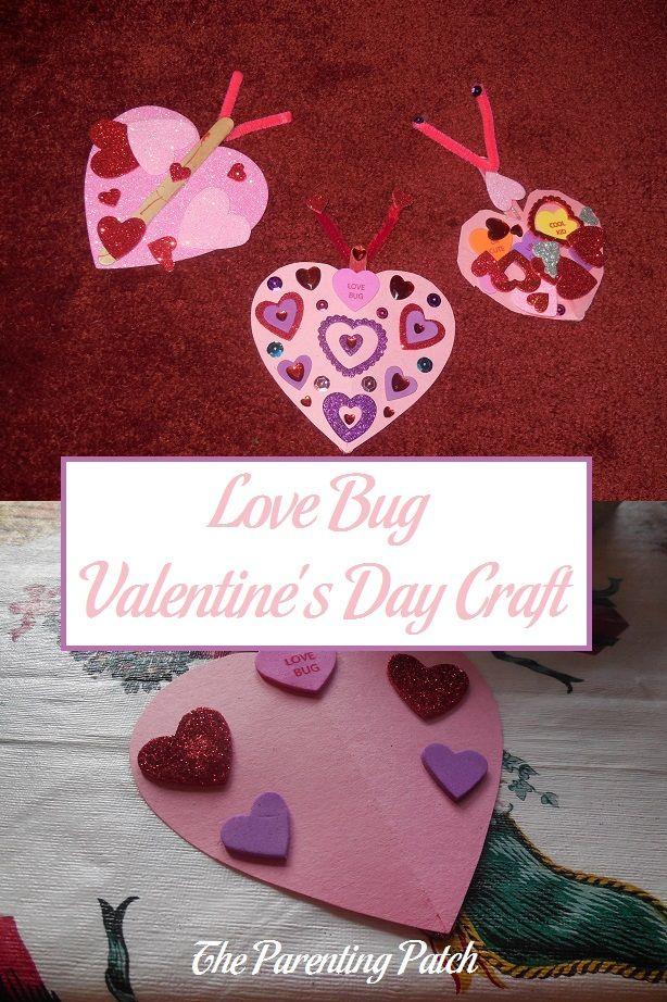 Love Bug Valentineu0027s Day Craft 652 best