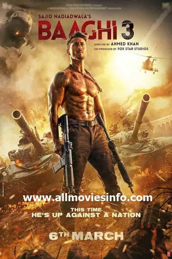 Baaghi 2 Hindi Movie 2018 Online Watch Full Free Watch Baaghi 2 2018 Bollywood Movie Online Full Hd 720p Fr Full Movies Free Movies Online Hindi Movies Online