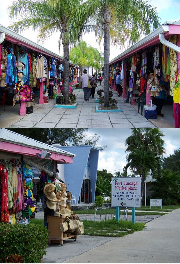 When in Freeport, Bahamas you'll want to shop at Port Lacaya Marketplace