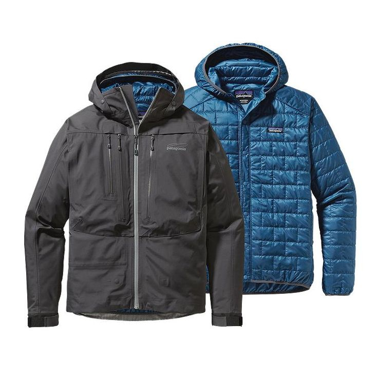 Patagonia 3-in-1 River Salt Jacket - Forge Grey FGE